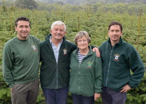 Nick, Reg, Ann and Shaun Hendy from Langford Lakes