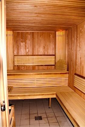 New sauna facilities